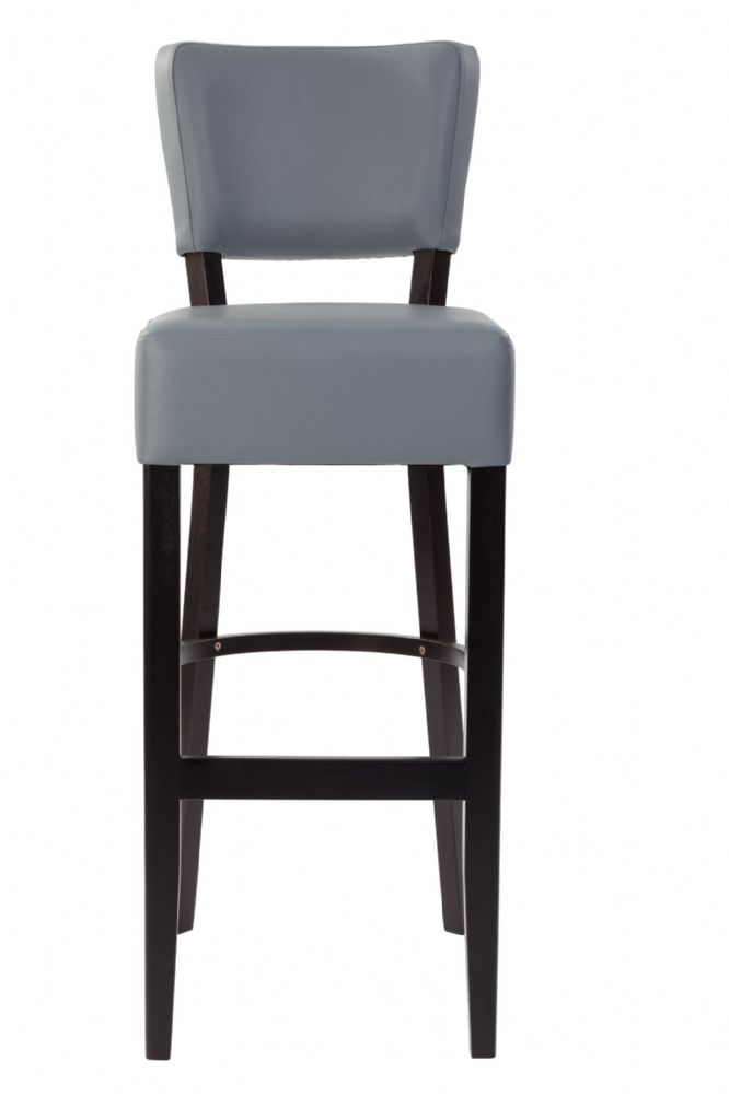 Bistro Bar Chair Available in Pewter, Soft Cream and Dark Chestnut